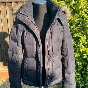 A&F Water Resistant Down Puffer Jacket